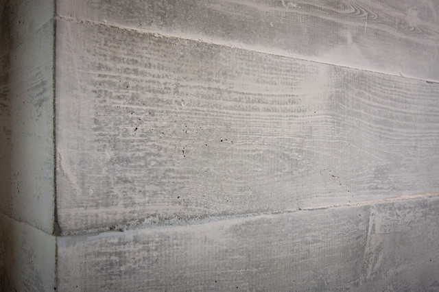 houzz living room paint curtains at walmart concrete board-formed fireplace surround - modern ...