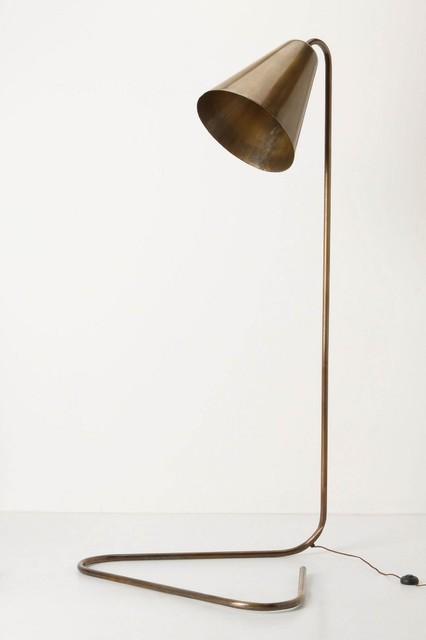 Gilded Glow Floor Lamp