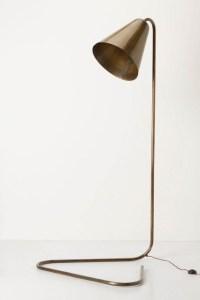 Gilded Glow Floor Lamp - Anthropologie.com - Contemporary ...