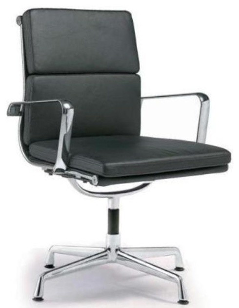 desk chair swivel no wheels hourglass dining director soft pad office with contemporary chairs by modern selections