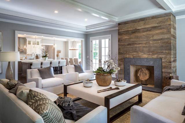Broadview Road  Klassisch modern  Wohnzimmer  New York