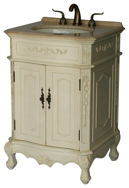 24 Antique Style Single Sink Bathroom Vanity Model 1905 24 261be Victorian Bathroom Vanities And Sink Consoles By Chinese Arts Inc