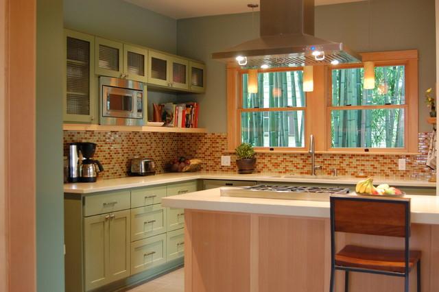 Contemporary Craftsman Kitchen Craftsman Kitchen