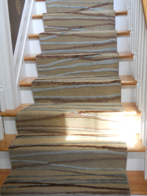 high end kitchen sinks sink cabinet custom modern stair runners - traditional staircase ...