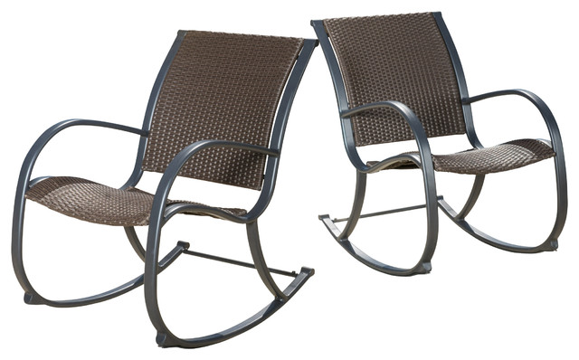 wicker rocking chair very task leann outdoor dark brown chairs contemporary