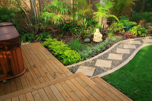 Balinese Style Garden Design Asian Landscape Sydney By