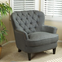 Tafton Club Chair Big Lots Furniture Lift Chairs Christopher Knight Home Tufted Grey Fabric Contemporary Armchairs And Accent By Overstock Com