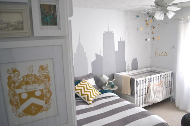 Nursery & Guest Room Re-Design contemporary-kids