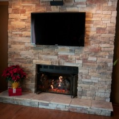 Kitchen Hoods For Sale Changing Countertops In Stone Fireplaces And Tvs - Traditional Family Room ...