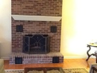 Fireplace cover up