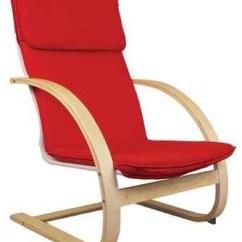 Bent Wood Rocking Chair Mid Century Swivel Chairs Teachers Natural Rocker Contemporary