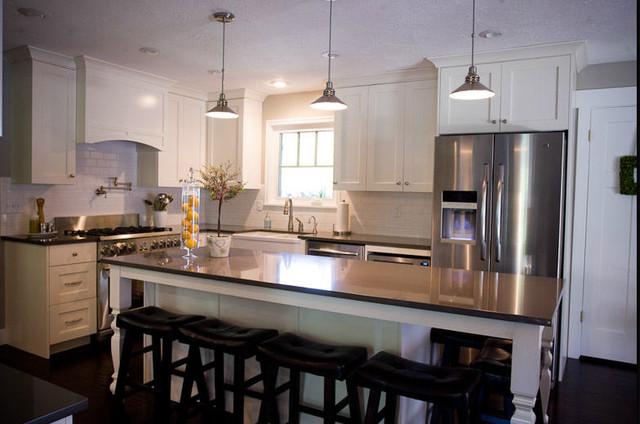 Cream and Grey Kitchen  Traditional  Kitchen  Salt Lake