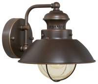 Vaxcel Lighting OW21581BBZ Nautical Transitional Outdoor ...