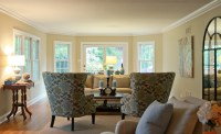 Comfortable Modern Cottage - Traditional - Living Room ...