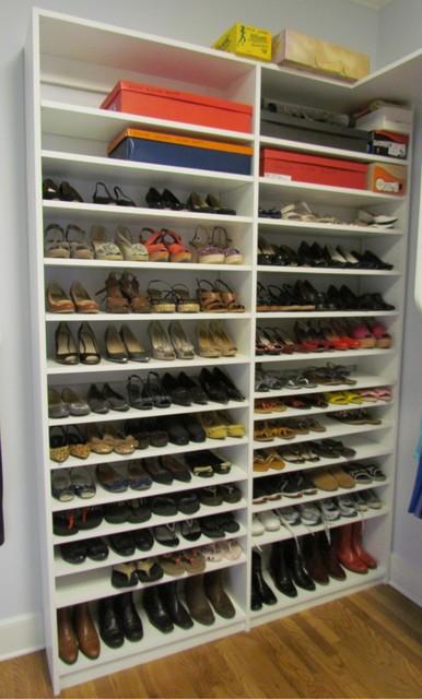 Atlanta Closet Double Shoe Shelves  Contemporary  Closet  Atlanta  by Atlanta Closet