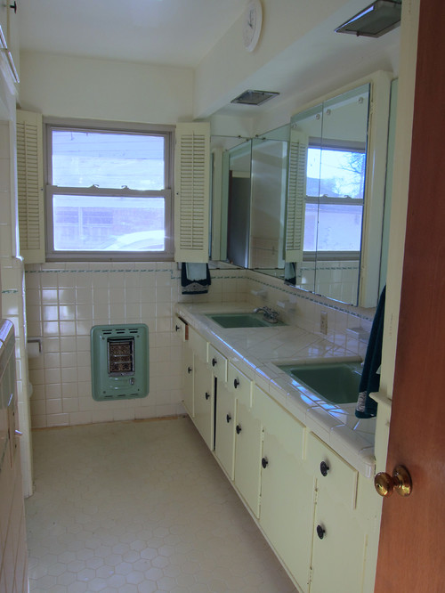 1950s bathroom remodel  need advice