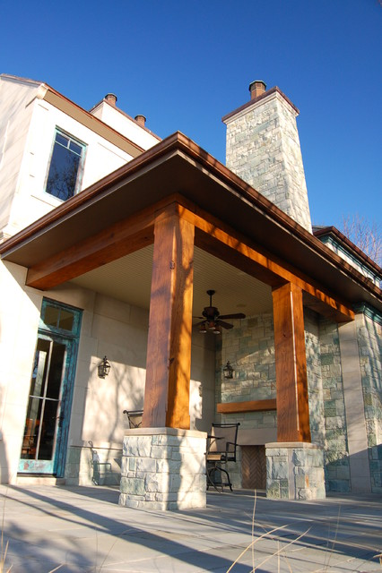Porch  Traditional  Exterior  Grand Rapids  by Hibler