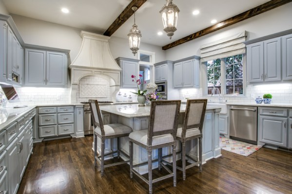 french colonial kitchen design University Park French Colonial - Traditional - Kitchen