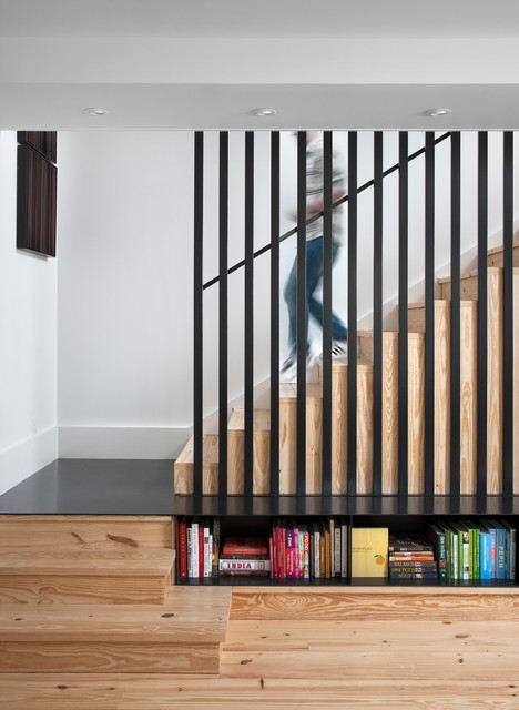 Clifford Residence scandinavian-staircase