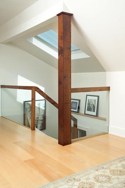 Attic Renovation  Modern  Staircase  Toronto  by Arnal
