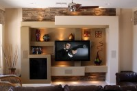 Media Wall 5 - Contemporary - Family Room - Phoenix - by ...