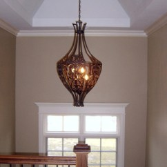 Hanging Chairs For Sale Rocker Glider Staircase Light Fixture - Traditional Hall Chicago By Follyn Builders & Developers