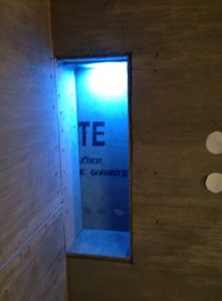Adding LED Lighting to your Kerdi Shower Niche