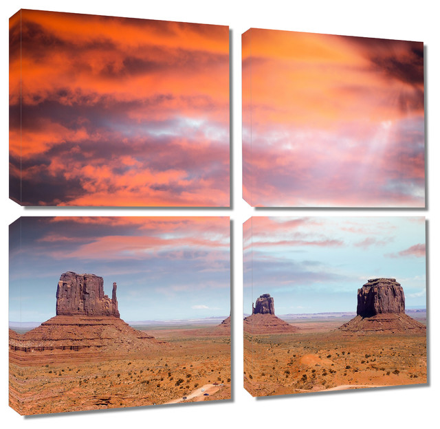 monument valley utah canvas