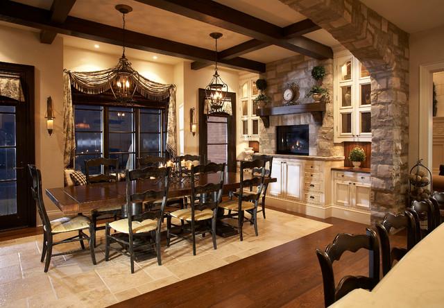 Lake Side Luxury  Traditional  Dining Room  Toronto