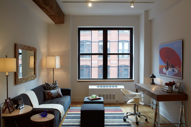 DUMBO Modern Interior Design 1 Bedroom Apartment Modern Living