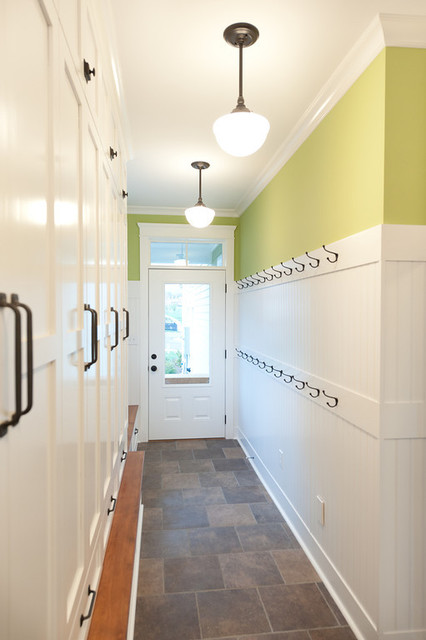 Mill Cabinet Shop Mudroom and Baths  Contemporary  Entry  Richmond  by Mill Cabinet Shop