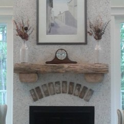 Kitchen Pendant Lights Over Island Hotels With Kitchens Near Me Mantle Made Reclaimed Wood, Fireplace Tabby ...