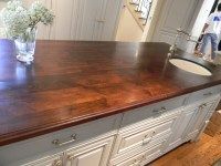 Walnut Island counter tops - Traditional - Kitchen ...