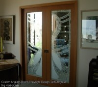 Etched /Sandblasted Glass Doors,Windows and Privacy Glass ...