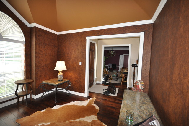 Paint finish for living room