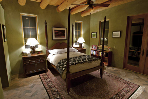 Traditional Santa Fe Style Home