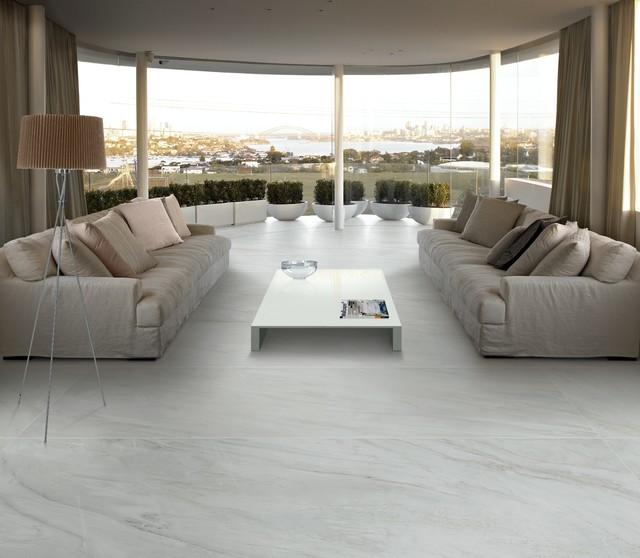 Panaria Utopia Slimline Marble Look Tile  Modern  Living