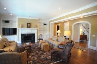Warm, inviting living room - Traditional - Living Room ...