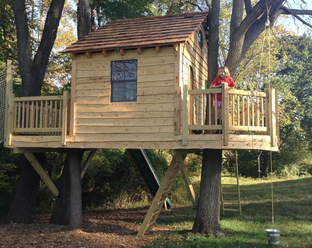 Delaware Country two platform Treehouse
