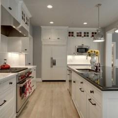 3 Light Kitchen Island Pendant Polished Brass Faucet Modern Bungalow - Craftsman Minneapolis By ...