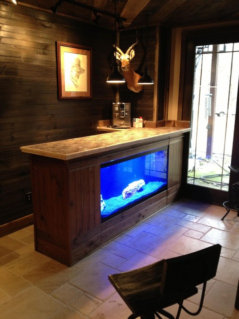 Living Water aquarium stands  Rustic  Home Office