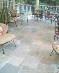 Porch floor tile