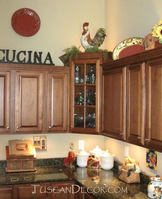 Tuscan Kitchen Decor Ideas For Decorating A Mediterranean Kitchen
