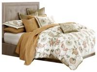 JLA JLA Hampton Hill Drayton Polyster Comforter Set, Mutli ...