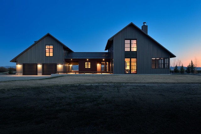 New Modern Farmhouse  Farmhouse  Exterior  Boise  by
