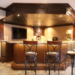 Large Living Room Chandeliers My In Spanish Game Rooms / Bars Man Caves With Tin Ceilings ...