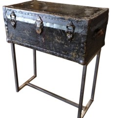 Steve Silver Dylan Sofa Table North London Gumtree Custom Steamer Trunk Console By Ph Design Group ...