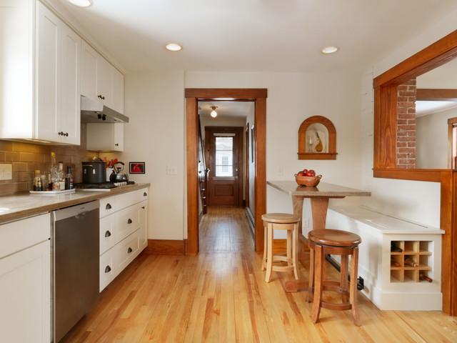 1920's House Remodel  Traditional  Kitchen  Burlington  By Peregrine Design Build