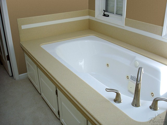 Onyx Series Solid Surface Tub Surrounds