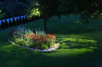 Backyard Lighting Examples - Traditional - Landscape ...